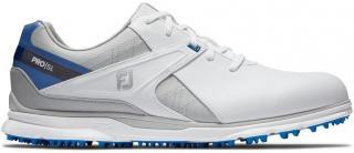 Footjoy Pro SL Mens Golf Shoes White/Grey/Blue US 9,5 pánské US 9,5
