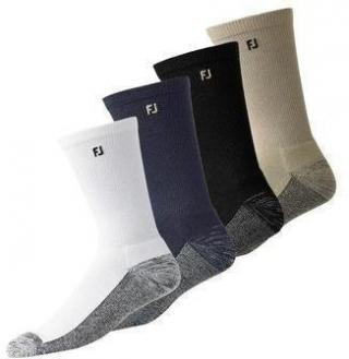 Footjoy ProDry Crew Black Socks Mens