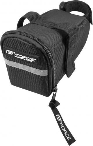 Force ECO Velcro Saddle Bag Black M