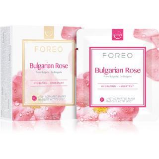 FOREO Farm to Face Bulgarian Rose hydratační maska 6 x 6 g dámské 6 x 6 g