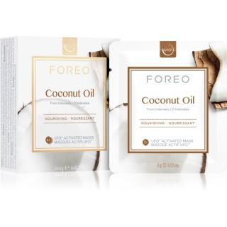 FOREO Farm to Face Coconut Oil hloubkově vyživující maska 6 x 6 g dámské 6 x 6 g