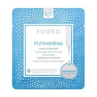 FOREO Intenzivně hydratační a vyživující pleťová maska UFO H2Overdose  6 x 6 g