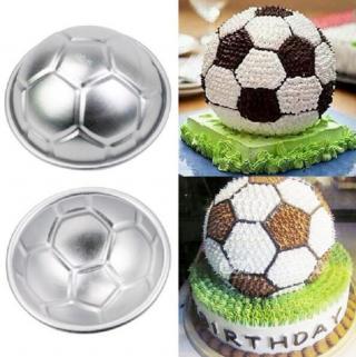 Forma na dort fotbalový míč 2 ks