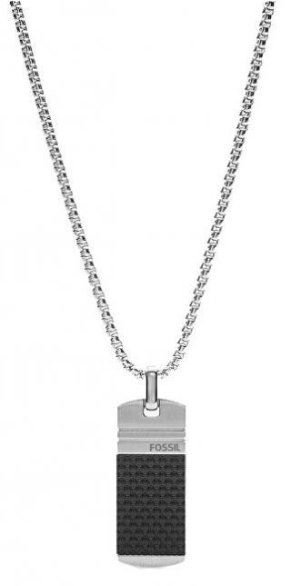 Fossil Stylový ocelový náhrdelník JF03316040