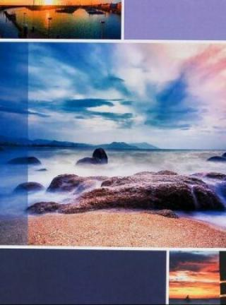 Fotoalbum DPH-4636 Timing 1 fialové 36 foto