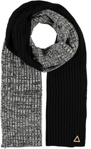 Fraas Bavlněná šála Bauhaus 628002 - černo šedá černá