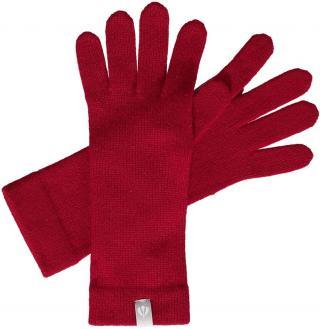 Fraas Dámské kašmírové rukavice 684305 - červená