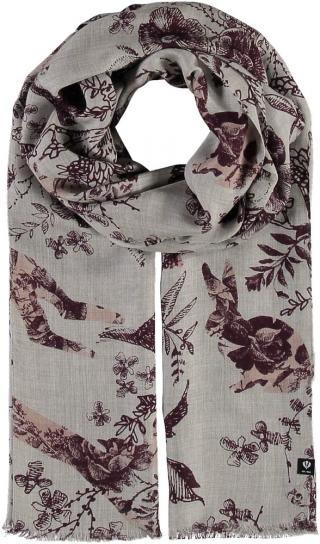 Fraas Dámský obdélníkový šátek 613023 - vínová