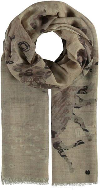 Fraas Dámský vlněný obdélníkový šátek Pegasus 638046 - béžová