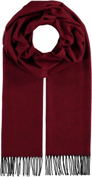 Fraas Elegantní pánská šála 627055 - červená vínová