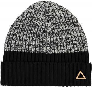 Fraas Pletená čepice Bauhaus 628003 - černo šedá černá
