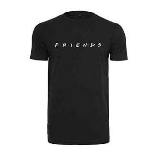 Friends - Logo - tričko černé XL