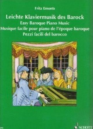 Fritz Emonts Baroková hudba pre klavír