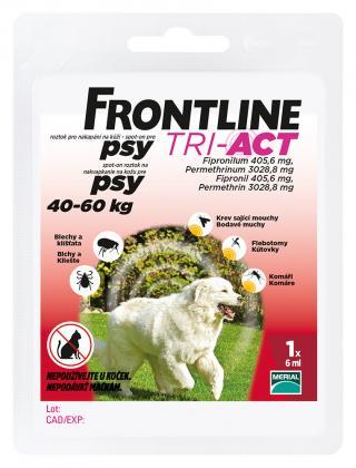 Frontline antiparazitikaTRI-ACT Spot-on Dog 6ml XL