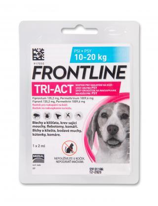 Frontline antiparazitní TRI-ACT Spot-on Dog 2ml M