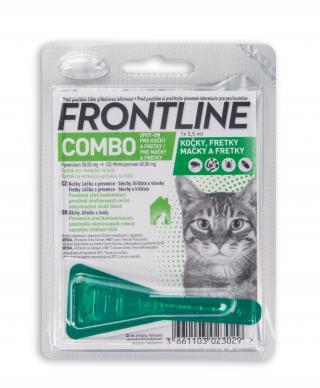 Frontline Combo spot-on pro kočky