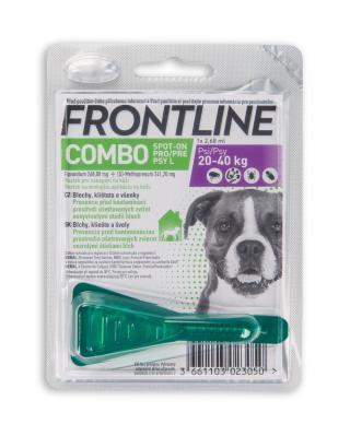 Frontline spot-on Combo pro psy L