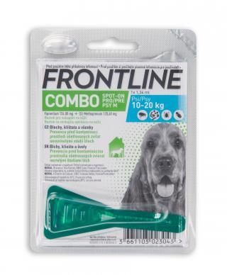 Frontline spot-on Combo pro psy M