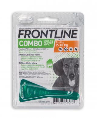 Frontline spot-on Combo pro psy S