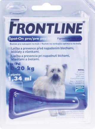 Frontline spot-on pro psy M