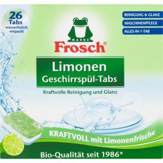 Frosch All in One Limonen tablety do myčky ECO 26 ks 26 ks