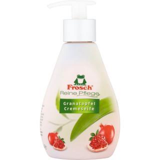 Frosch Creme Soap Pomegranate tekuté mýdlo na ruce 300 ml dámské 300 ml