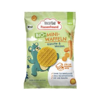 FRUCHTBAR®Pausenfreunde Bio mini oplatky mrkev a pšenice 20 g od 3. roku věku dítěte