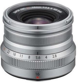 Fujifilm XF16mm F2,8R WR Grey