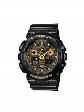 G-Shock Hodinky GA-100CF-1A9ER Černá 00
