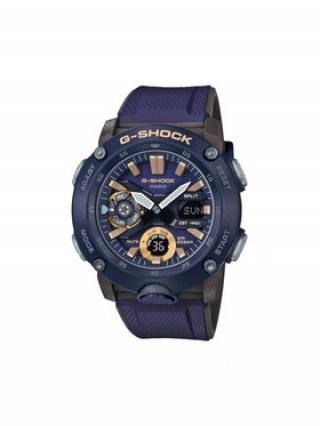 G-Shock Hodinky GA-2000-2AER Tmavomodrá 00