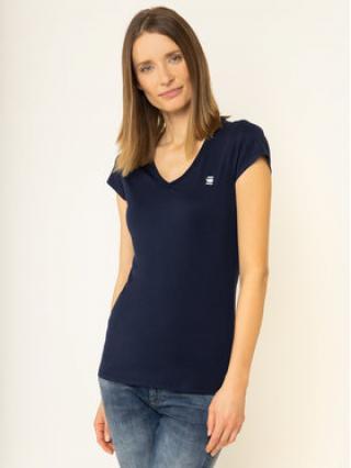 G-Star RAW T-Shirt D04434-2757-6067 Tmavomodrá Slim Fit dámské XS