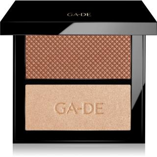 GA-DE Velveteen paletka na tvář odstín 22 Bronze & Glow 7,4 g dámské 7,4 g