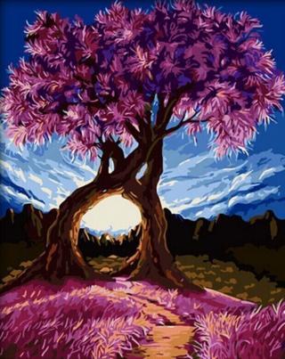 Gaira Cuddling Tree M1448 40 x 50 cm