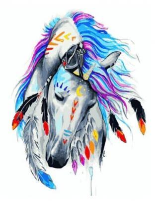 Gaira Indian Horse M991970 40 x 50 cm