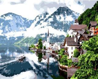 Gaira Jezero Hallstatt M99375 40 x 50 cm