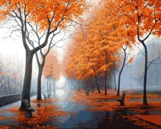 Gaira Podzimní park M1141 40 x 50 cm