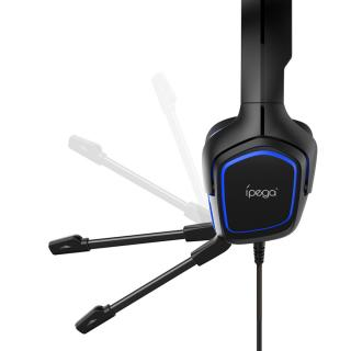 Gaming Headset s Mikrofonem iPega PG-R006 modrá