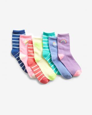 GAP Fashion Ponožky 7 párů dětské Vícebarevná dámské L
