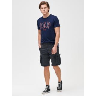 GAP Kraťasy 11 Twill Cargo Shorts with Flex pánské černá 28