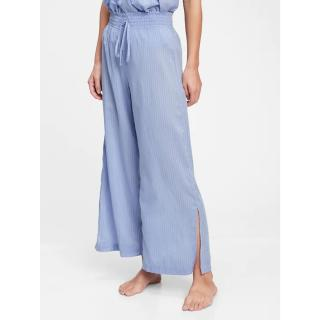 GAP Pyžamové kalhoty dreamwell pajama pants dámské modrá XL