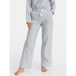 GAP Pyžamové kalhoty pajama pants dámské modrá L