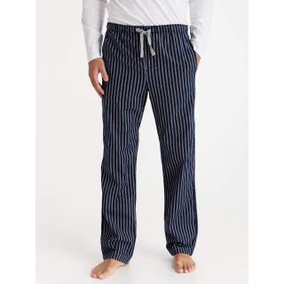 GAP Pyžamové kalhoty pajama pants in poplin pánské černá M