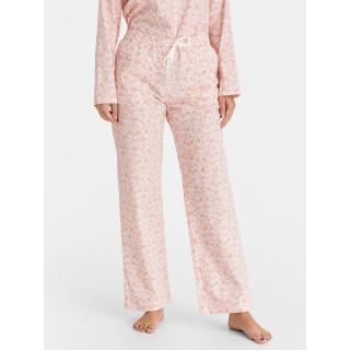 GAP Pyžamové kalhoty poplin pajama pants dámské růžová XL