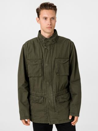 GAP zelený pánský kabát - S pánské zelená S