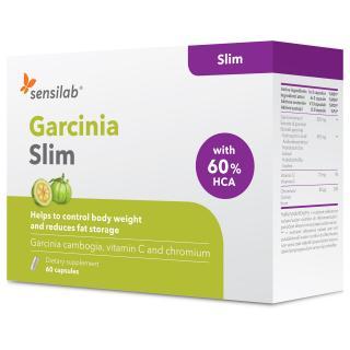 Garcinia Slim: kapsle na hubnutí s garcinií kambodžskou, které omezují chutě k jídlu. Obsahuje 60 kapslí na 30 dní.