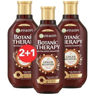 GARNIER Botanic Therapy Ginger Recovery Shampoo 3 × 400 ml