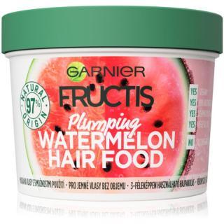 Garnier Fructis Watermelon Hair Food maska pro jemné a zplihlé vlasy 390 ml dámské 390 ml