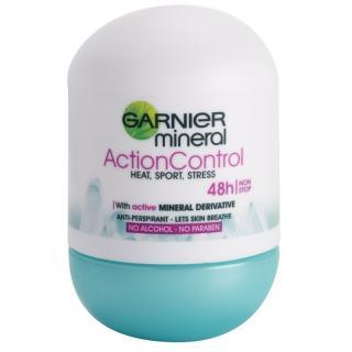 Garnier Mineral Action Control antiperspirant roll-on 48h 50 ml dámské 50 ml