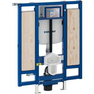 GEBERIT Montážní prvek Geberit Duofix pro závěsné WC, 112 cm, se splachovací nádržkou pod omítku Sigma 12 cm, bezbariérový, WC výškově nastavitelné 11