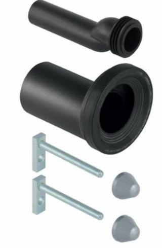 GEBERIT připojovací souprava pro WC, excentrická, s připevňovacím materiálem 405.116.00.1